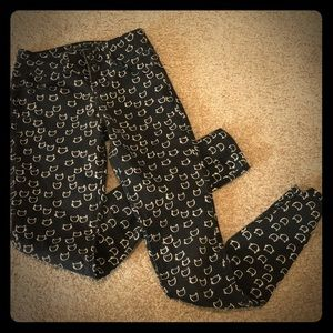 Hot Topic Blackheart Jeans sz 0 super skinny